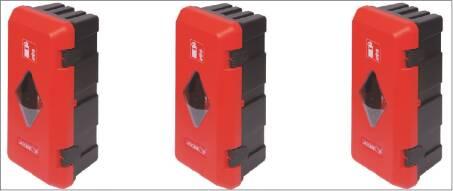 Feuerlöscher Schutz Box Kunststoff