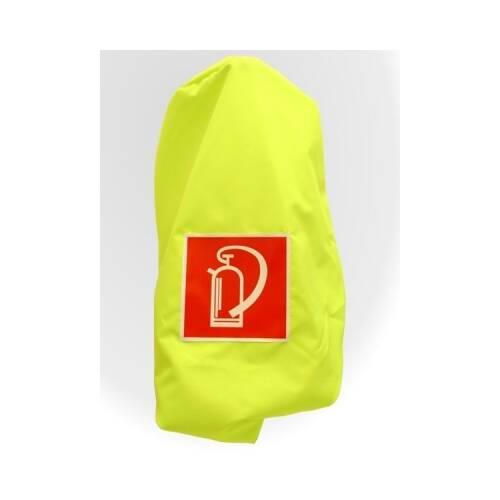 Schutzhauben Neongelb für Feuerlöscher 12 kg