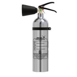 Co2-Feuerlöscher Chrom 2 Kg. K2AJ