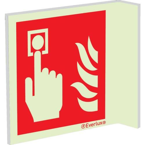 Brandschutzzeichen Fahnenschilder