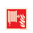 Brandschutzzeichen Reflektierend