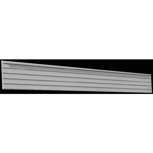 Aluminiumrahmen für Leitstreifen und Leitmarkierung