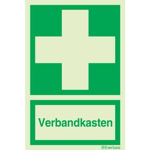 Rettungszeichen Symbole Verbandkasten