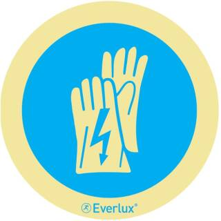 Isolierende Handschuhe benutzen